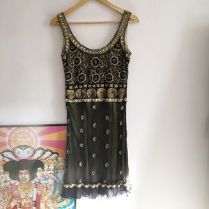 Marina Beaded dress 20's Style